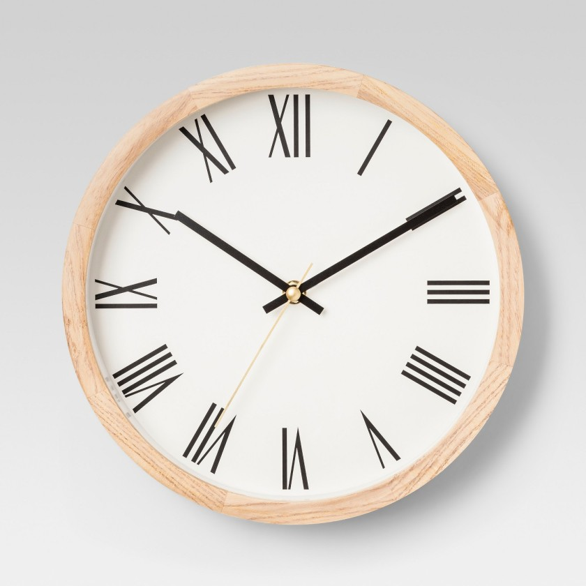 Decorative Wood Wall Clock