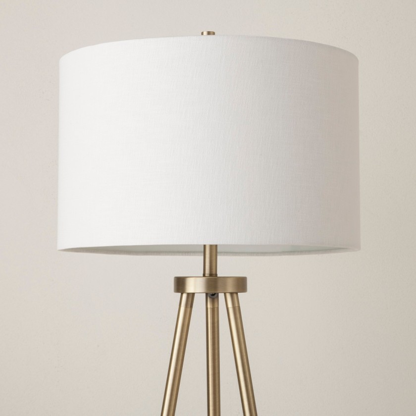 Ellis Tripod Lamp Brass 2