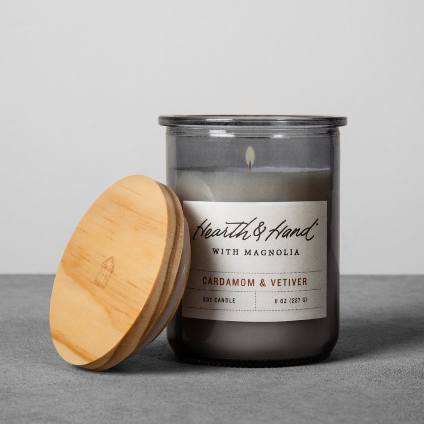 Lidded Jar Container Candle 8oz 2