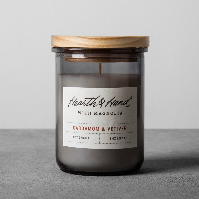 Lidded Jar Container Candle 8oz