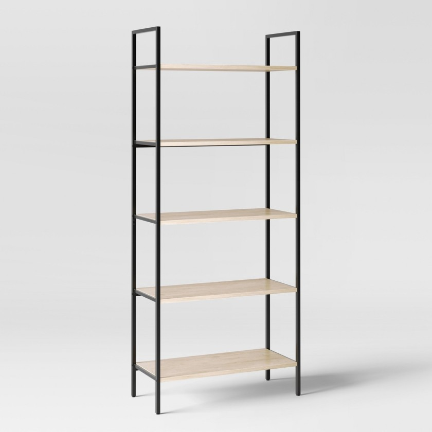 Loring 5 Shelf Ladder Bookcase