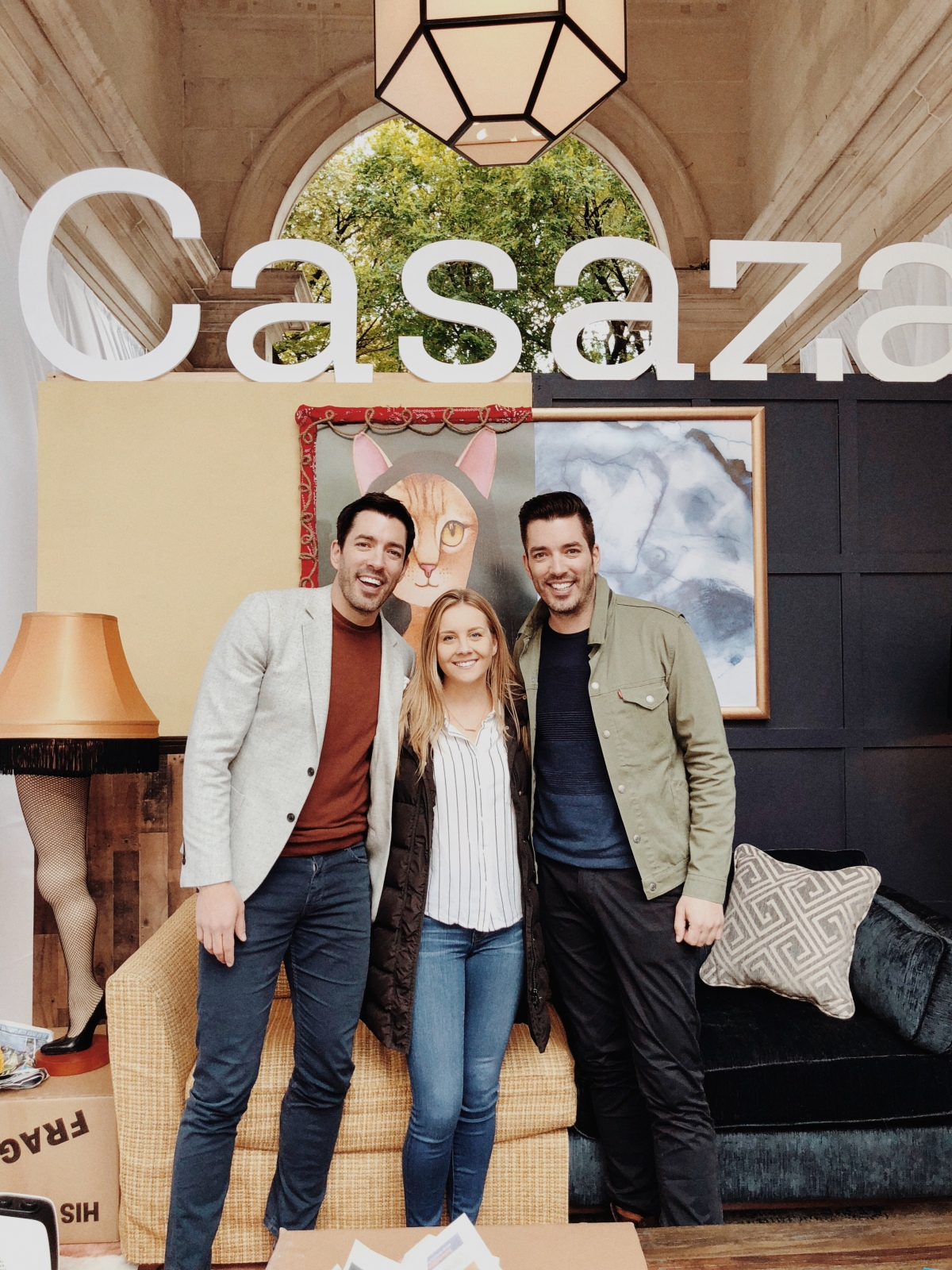 I Met the PropertyBrothers!