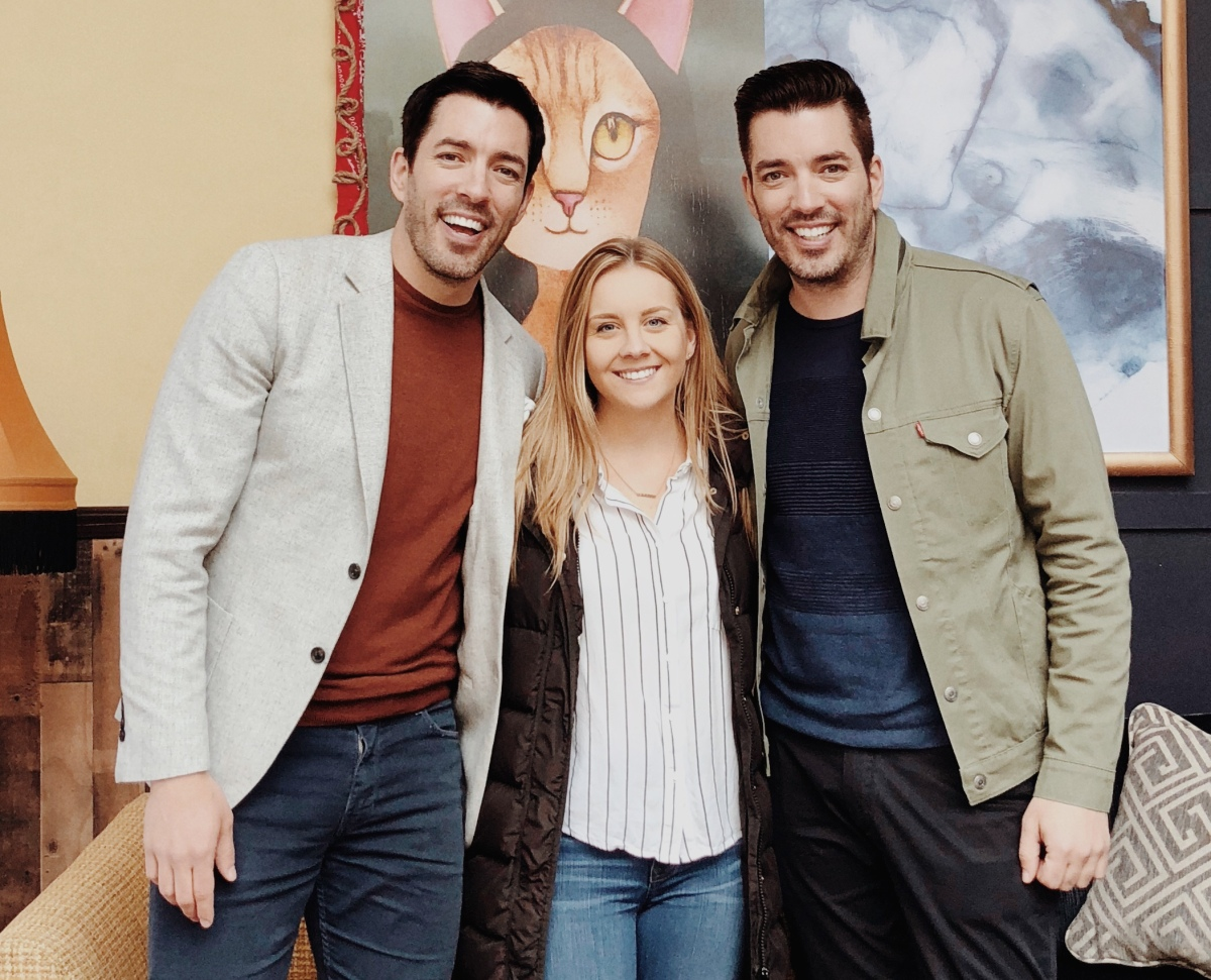 5 Things I Learned from My Design Date with Drew & Jonathan Scott (aka The PropertyBrothers)