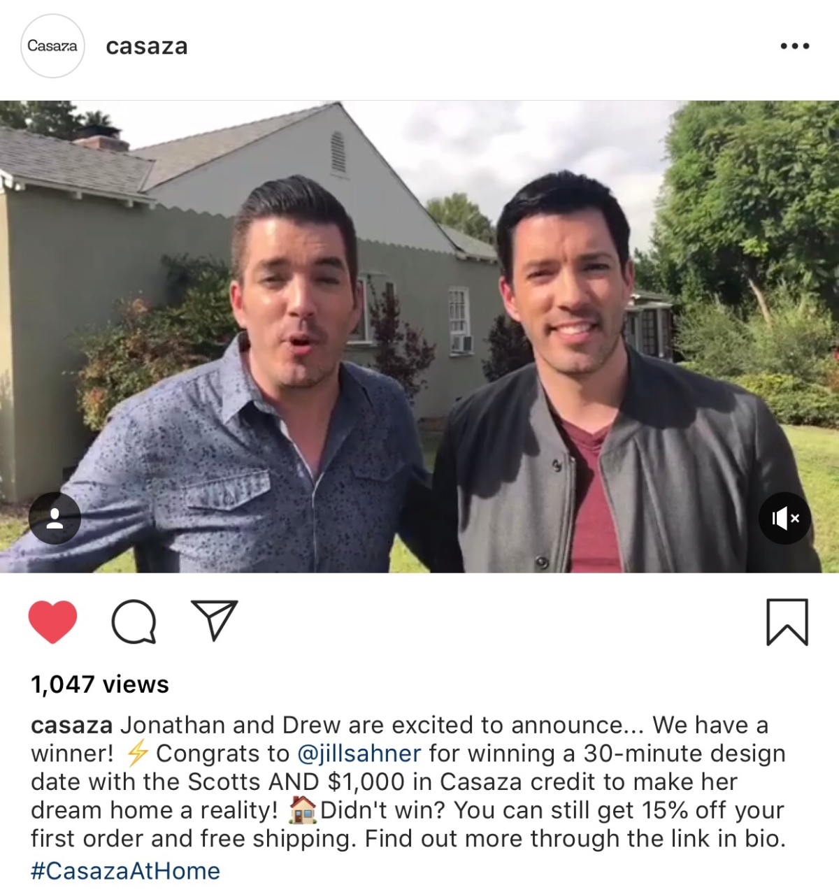 I Won the Property BrothersGiveaway!